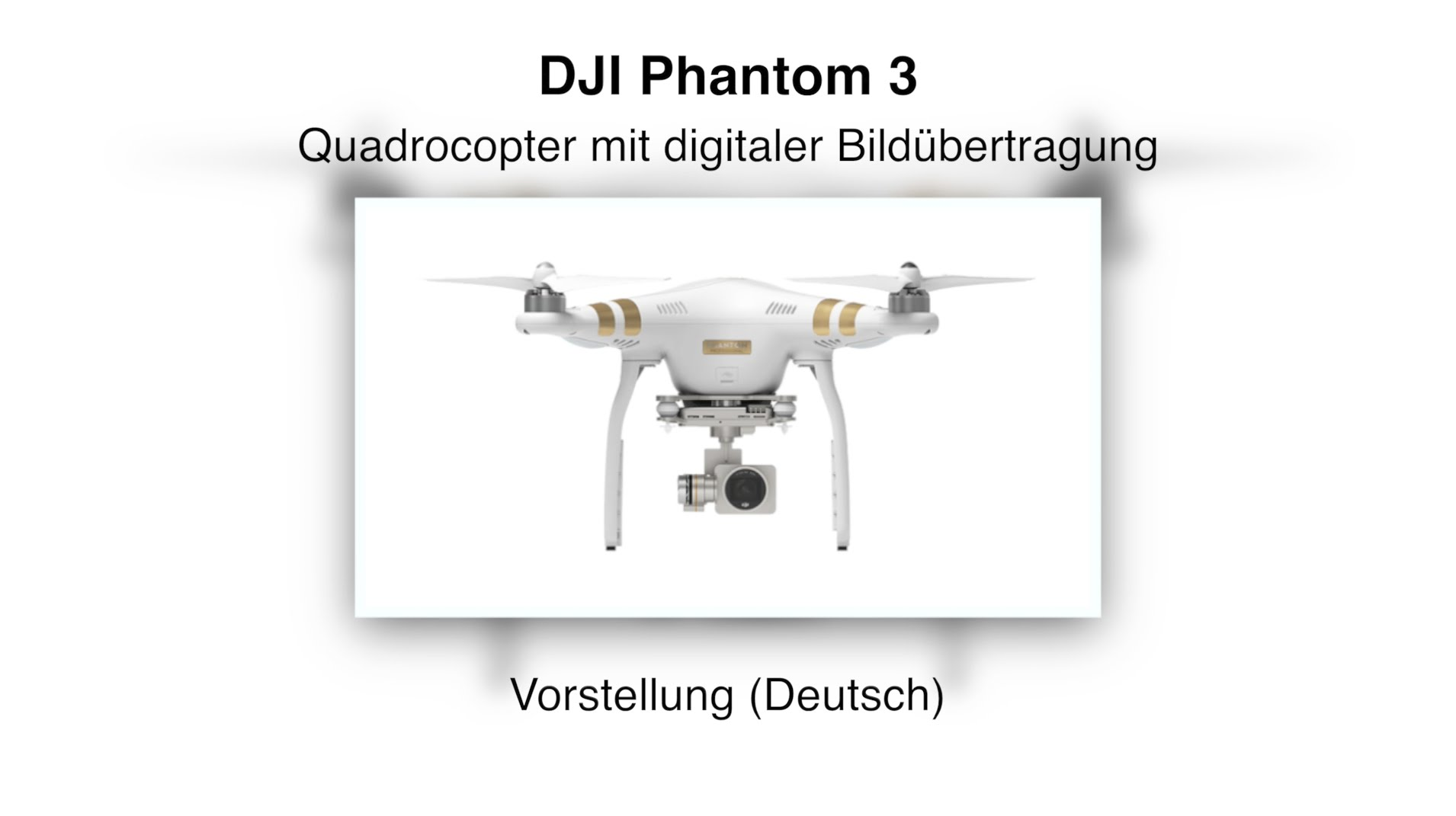 DJI Phantom 3 Unboxing